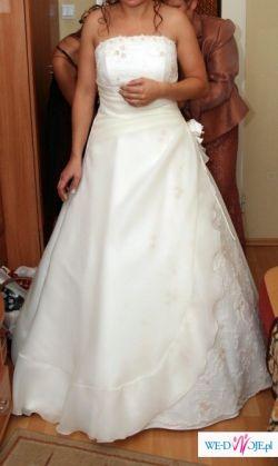 Suknia Ślubna w kolorze Ivory