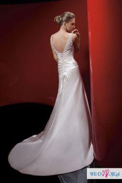 suknia ślubna w rozmairze 38, kolor ivory z kolekci Oreasposa