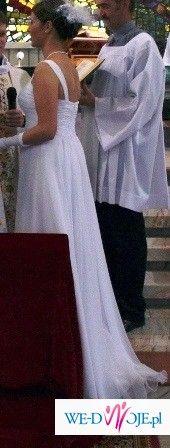 suknia slubna w stylu EMPIRE