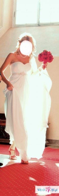 Suknia ślubna w stylu empire - grecka