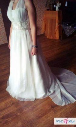 Suknia ślubna w stylu greckim