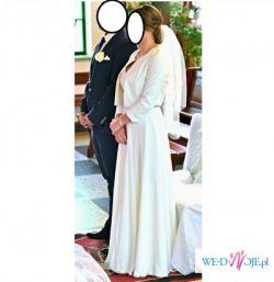 suknia ślubna w stylu greckim Vinifera