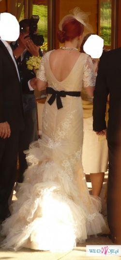 Suknia ślubna w stylu retro