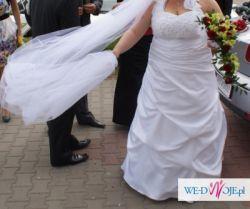 Suknia ślubna w większym rozmiarze