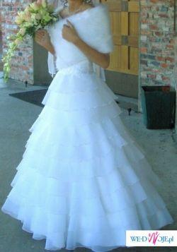 suknia slubna welon etola buty