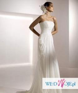 Suknia ślubna, welon i buty