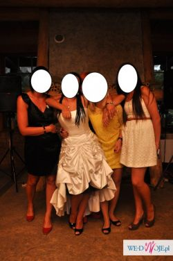 Suknia ślubna wg własnego projektu
