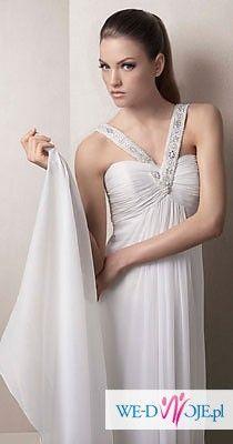 Suknia ślubna White One 3023, Madonna 2010 + Gratisy!