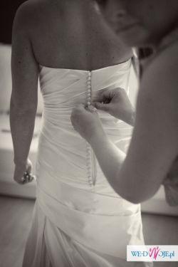 Suknia ślubna White One 411/ La sposa Fanal