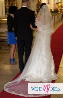 suknia ślubna - white one 411 (sprzedam)