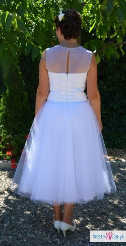 Suknia slubna wlasnego projektu