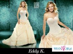 Suknia ślubna włoskiej firmy EddyK z kolekcji Annalisa Sposa 2008