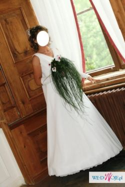 Suknia ślubna wraz z butami