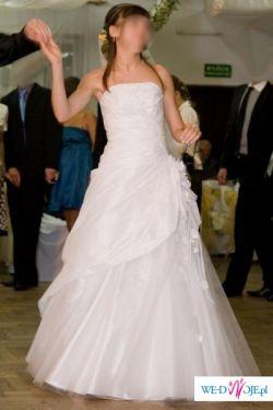 suknia ślubna + wszystkie dodatki