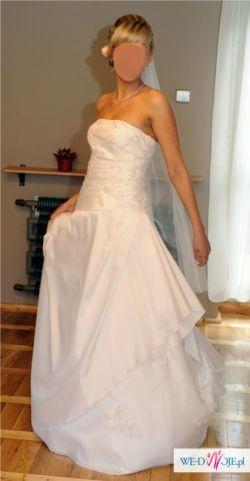 Suknia ślubna- wzór Canarie z kolekcji Collector