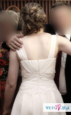 Suknia ślubna wzorowana na sukni z kolekcji Elizabeth Passion 2010 (mod. 2145)