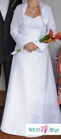 Suknia slubna z dodatkami 800zł Chrzanów