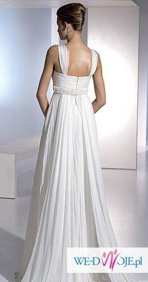 suknia slubna z domu mody Madonna kolekcja San Patrick