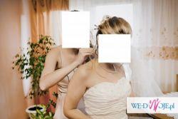 Suknia Ślubna z dopinanym trenem