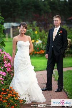 Suknia ślubna z hiszpańskiej kolekcji La Sposa Madeira 2010