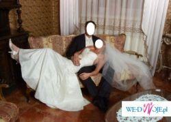 Suknia ślubna z hiszpańskiej kolekcji La Sposa model MIEL - Madonna roz. 36/38