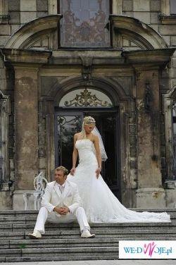 suknia slubna z kolekcji 2008 PRONOVIAS, model- Nalon