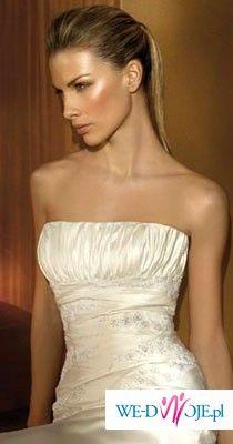 suknia slubna z kolekcji 2008 San Patrick