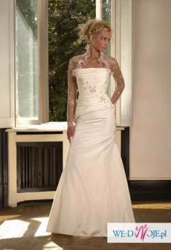 suknia ślubna z kolekcji Biancaneve 2007, model 405 - Tanio