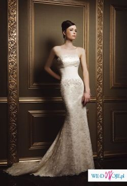 Suknia ślubna z kolekcji Demetrios 2008 Lisa Ferrera, model 1351