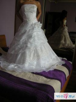 Suknia ślubna z kolekcji Estera, jak NOWA !!!