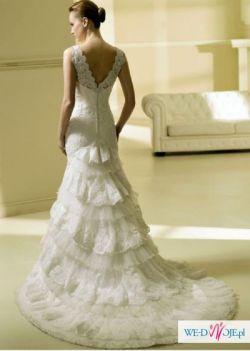 Suknia ślubna z kolekcji La Sposa (Hiszpańska)