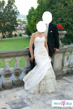 "Suknia ślubna z kolekcji la sposa ""Madeira"" z salonu Madonna"