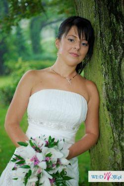 Suknia ślubna z kolekcji MS Moda - model Oliwia