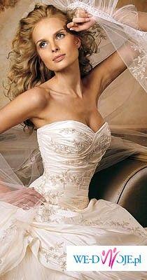 Suknia ślubna z kolekcji Pronovias