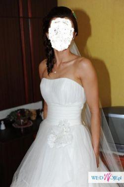Suknia ślubna z kolekcji Pronovias model Mosaico