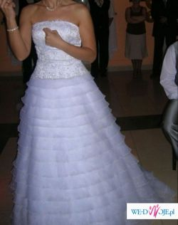 Suknia ślubna z kolekcji Sweetheart (model 5846)+halka+bolerko (rozm.40/42)
