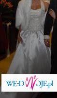 Suknia ślubna z rancuskiego butiku 2008r