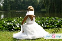 suknia ślubna z renowanego salonu