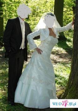 Suknia ślubna z salonu AGNES rozm38-40 Poznań