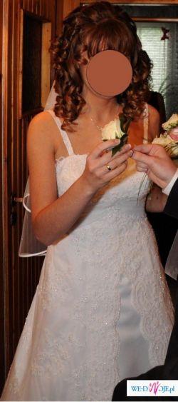 suknia ślubna z salonu Evita, rozmiar 38