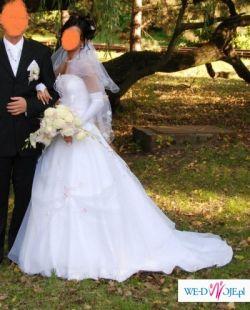 Suknia ślubna z salonu Sophia - Różowa Tęcza