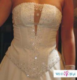 suknia ślubna z trenem 400zł