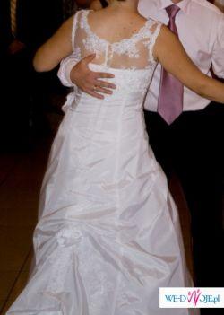 Suknia ślubna Z Trenem Stan Idealny Suknie ślubne Ogłoszenie