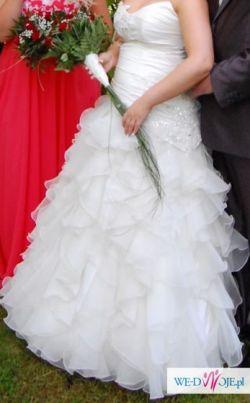 Suknia ślubna za 600 zł ale też negocjacja