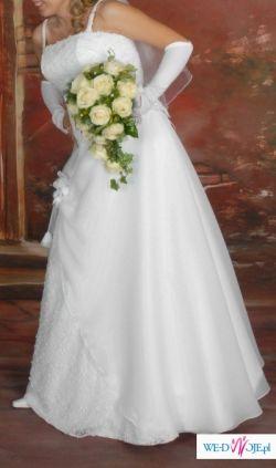 suknia ślubna zakupiona w Salonie ślubnym Miss Victoria