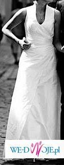 suknia ślubna ze stójką