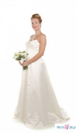 suknia slubne, rowniez propozycja sukni  slubnej dla kobiet w ciazy!