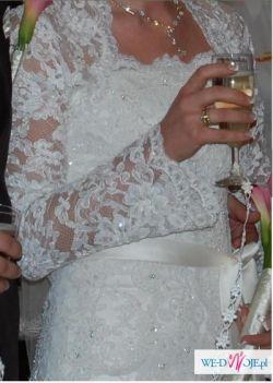 Suknia Śluna_White One 176_ecru