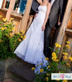 suknia sophia tolli koronkowa
