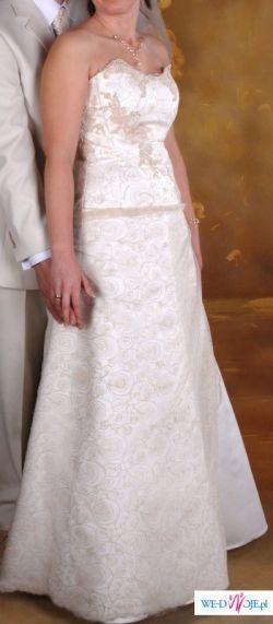 Suknia SPOSA FABIANA (ecru) rozm.40